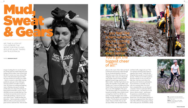 Treadlie Magazine Issue 7 June 2012 - Cyclocross