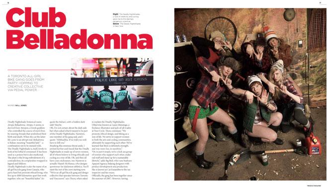 Treadlie Magazine Issue 7 June 2012 - The Deadly Nightshades