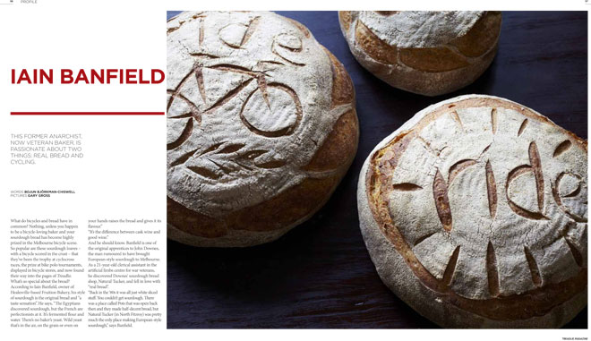 Treadlie Magazine Issue 6 March 2012 - Iain Banfield