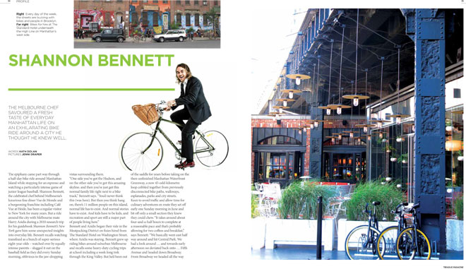 Treadlie Magazine Issue 6 September 2012 - Shannon Bennet