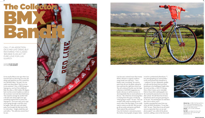 Treadlie Magazine Issue 6 September 2012 - BMX Bandit