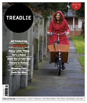 Issue 8 Treadlie Magazine - Clare Bowditch