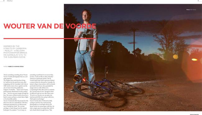 Wouter van de voorde Treadlie Magazine Issue 9 December 2013