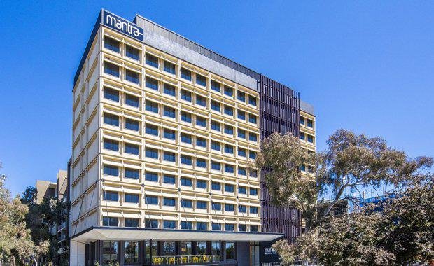 Former Canberra Office Building Redeveloped into Hotel