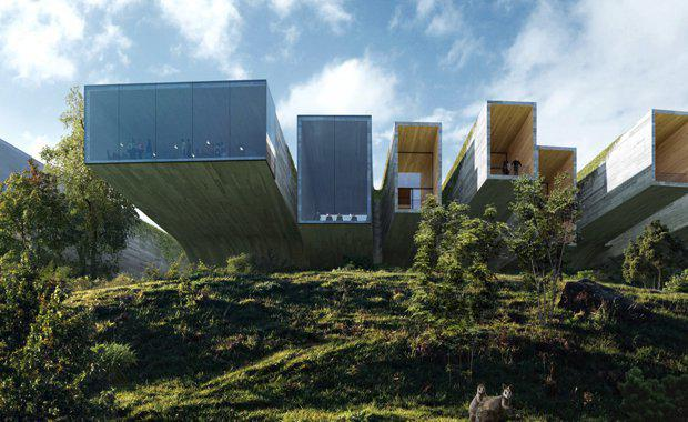Council approves 100m luxury clifftop resort on tasmania for Silvester design hotel