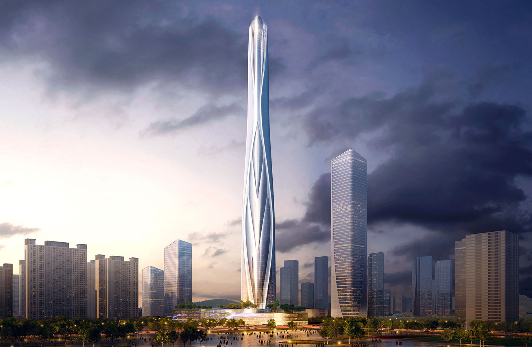 China's Tallest Skyscraper Announced