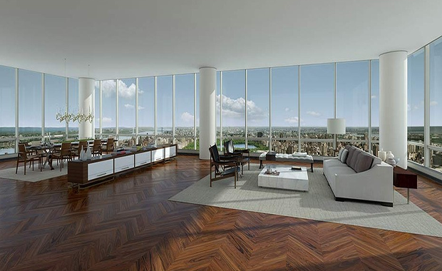 New 100m record set for new york 39 s most expensive for Most expensive penthouse in nyc