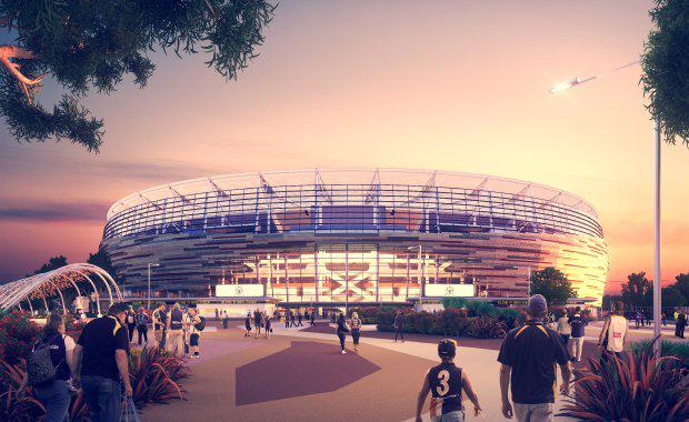 Perth S 1 45bn Optus Stadium On Track For January Debut