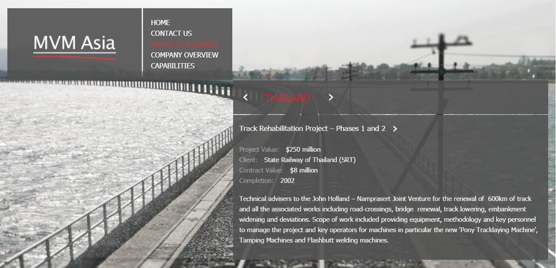 MVM Asia website