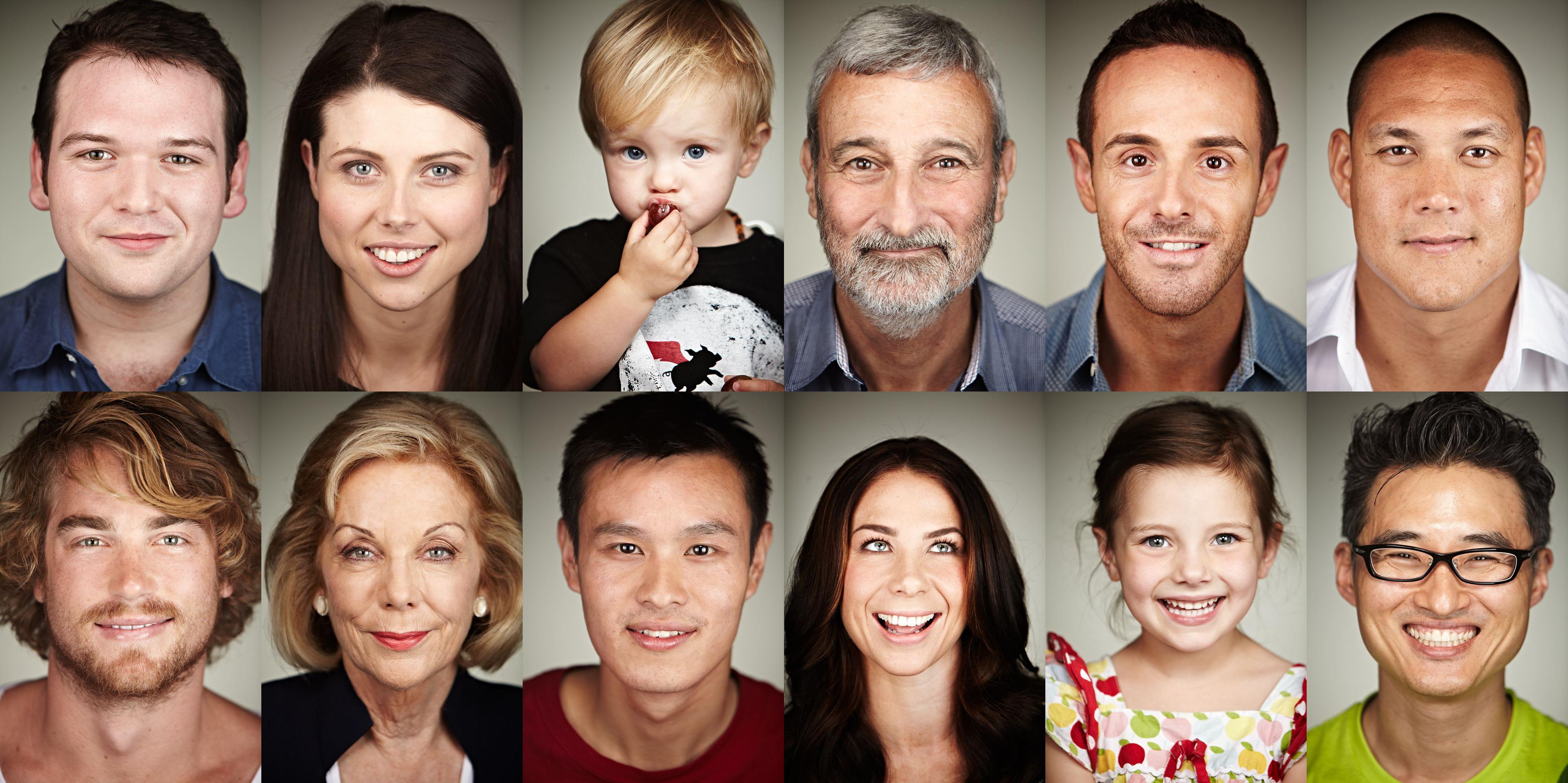 Thank You Australia Portraits