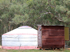 Yarranungara yurt retreat