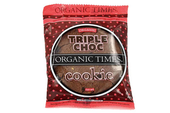 Organictimes triple choc cookie