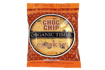 Organictimes choc chip cookie