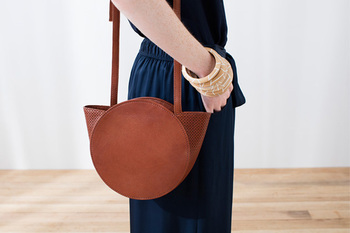 Elk skygge small leather bag