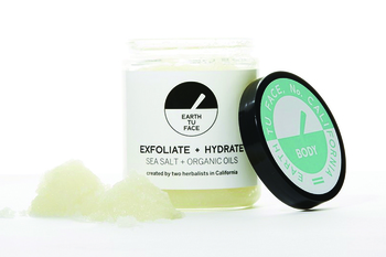 Ecoture sponsored product salt scrub