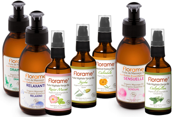 Massage and vegetable oils organic florameaustralia