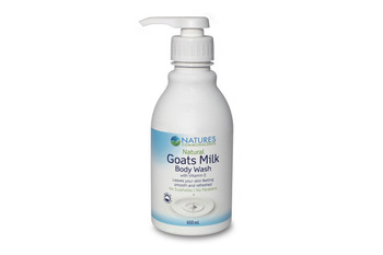 Naturescommonscents goatsmilk bodywash
