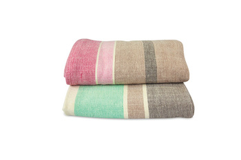 Organic cotton blankets chambray
