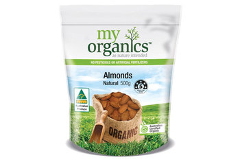 Myo natural almonds