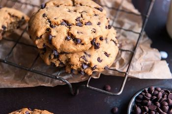 Choc chip cookie styled preview