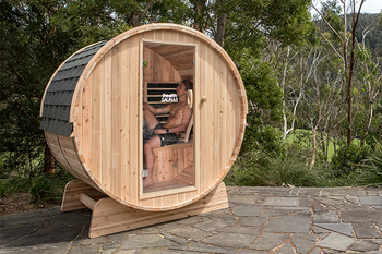 Outdoor sauna product image