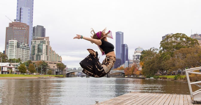 Melbourne Events & Things to Do - River Jump