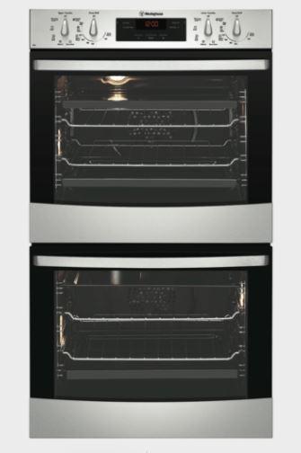 Westinghouse 60cm S/Steel  Double Oven WVE636S