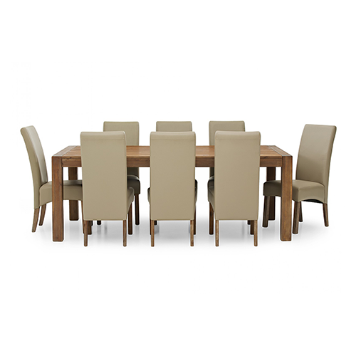Silverwood 9 Piece Dining Suite
