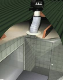 Isodrive Bathroom Exhaust Fan