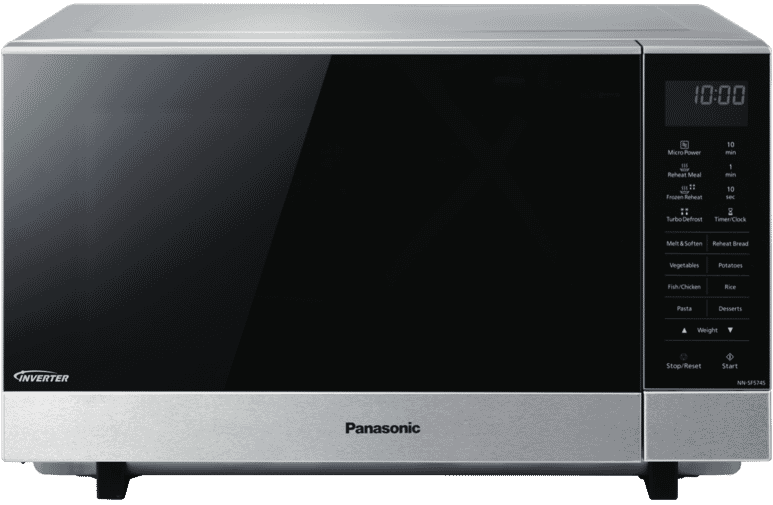 Panasonic 27L 1000W Stainless Steel Microwave