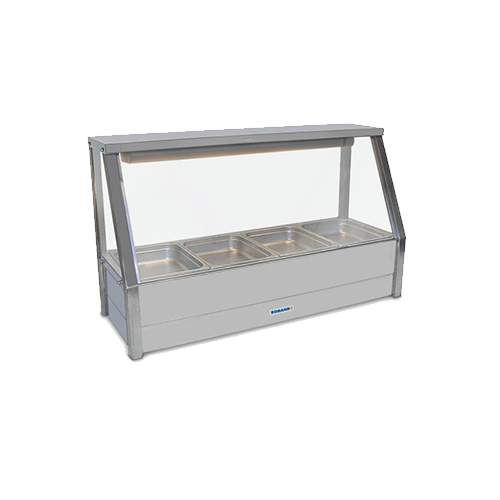 Roband Straight Glass Hot Food Display Bar