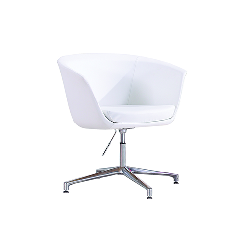 Dem Bonded Leather Swivel Casual Chair