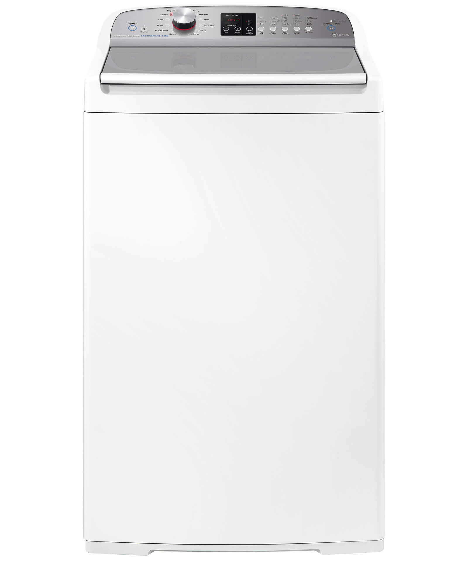 TEST Fisher & Paykel 8.5kg Top Load Washer