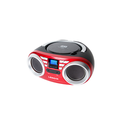 Lenoxx Portable CD Player Red