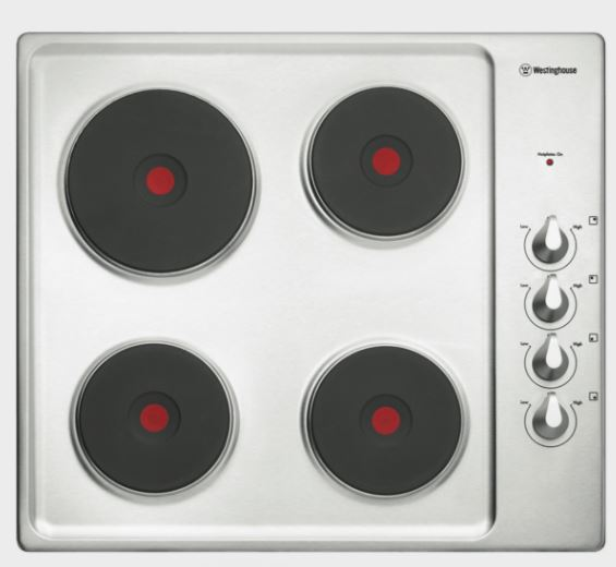 60cm Electric Cooktop S/Steel