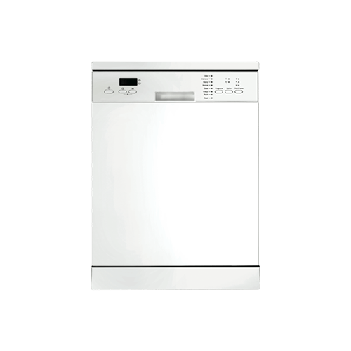 DeLonghi Freestanding Dishwasher White