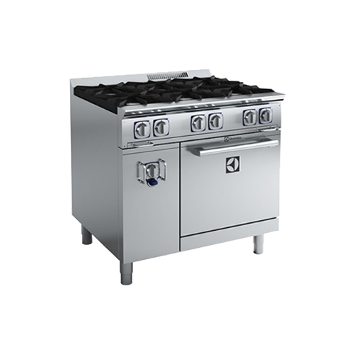 Electrolux Compact Line Freestanding 6 Burner Gas Range On Static Oven