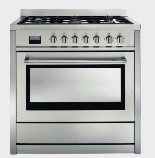 Euromaid Upright  Electric Oven + Ceramic Cooktop