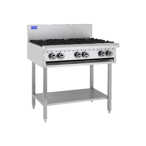 Luus Essentials 6 Burner Cooktop