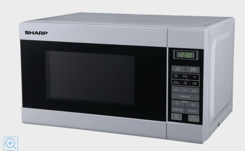 Samsung 34L 1000W White Microwave