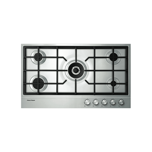 Fisher & Paykel 90cm Gas Cooktop SS