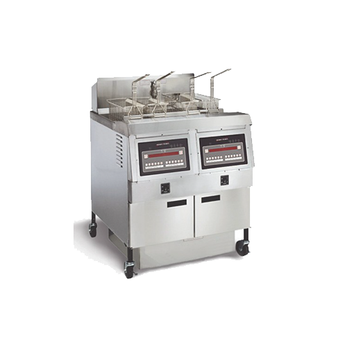 Henny Penny Two Well Natural Gas Open Fryer