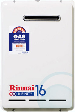 Rinnai Natural Gas Continuous Flow Hot Water System