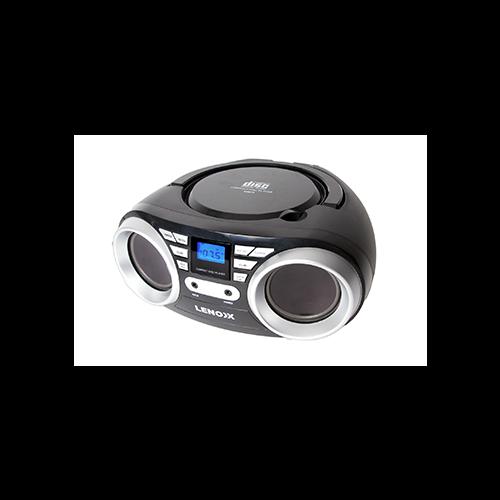 Lenoxx Portable CD Player Black