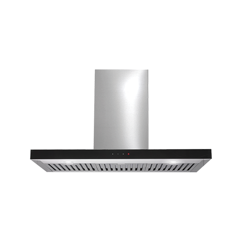 Euromaid 90cm Deluxe Flat Canopy Rangehood SS