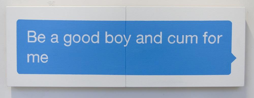 Be A Good Boy