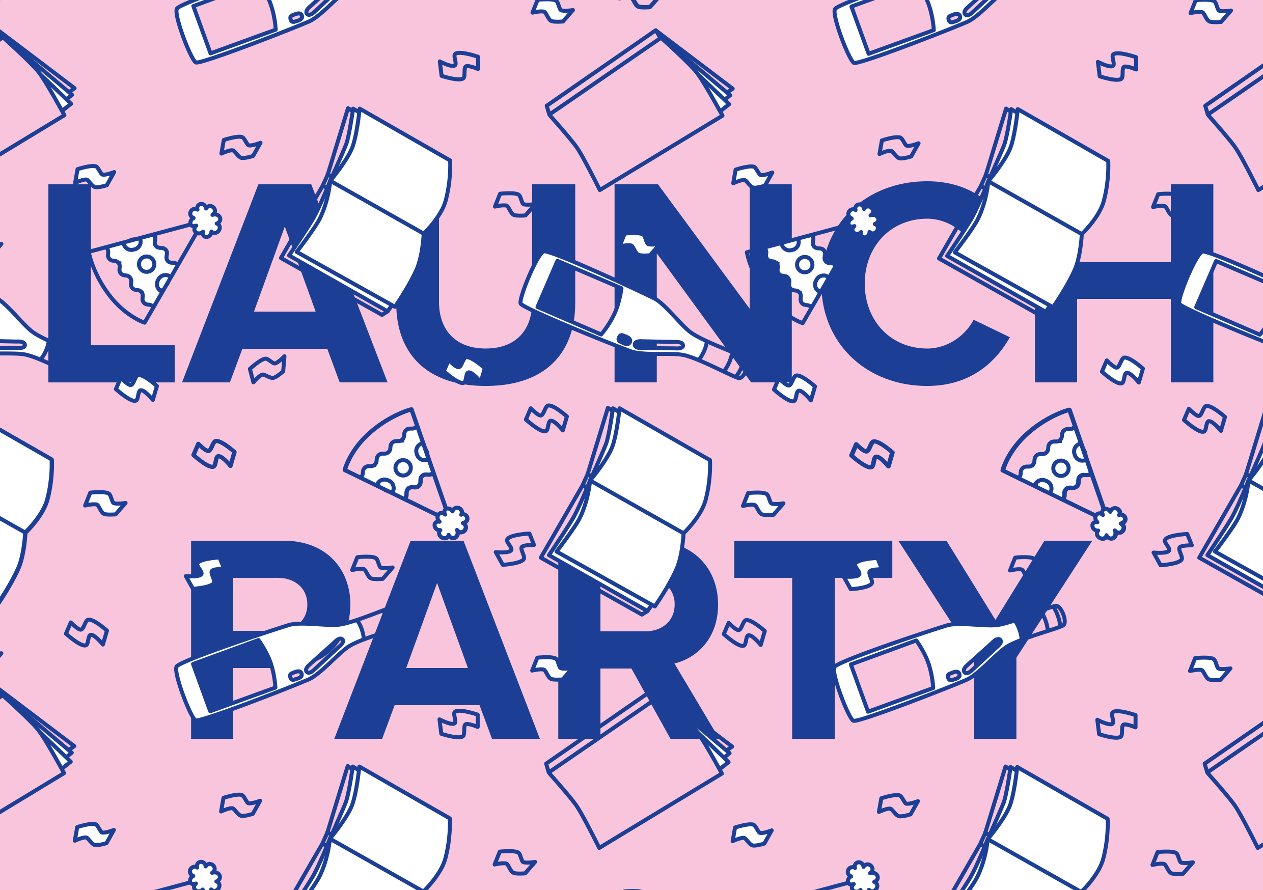 UNSWeetened Launch Party Invitation Design