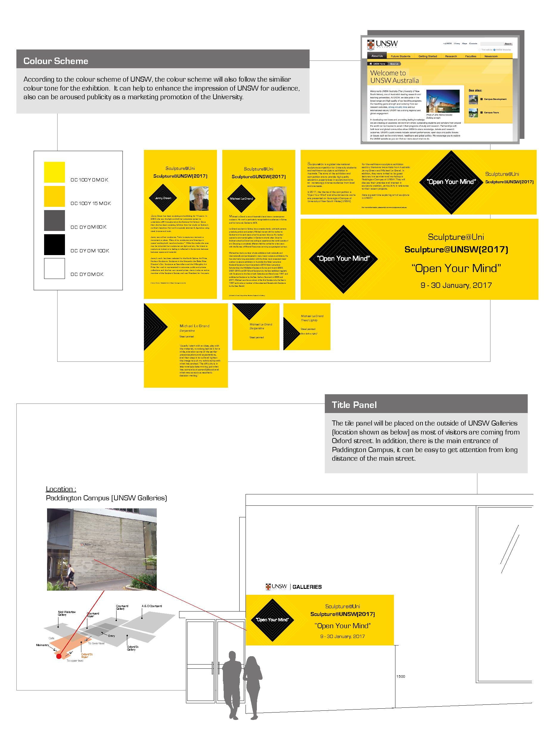 Exhibition Design Plan 2