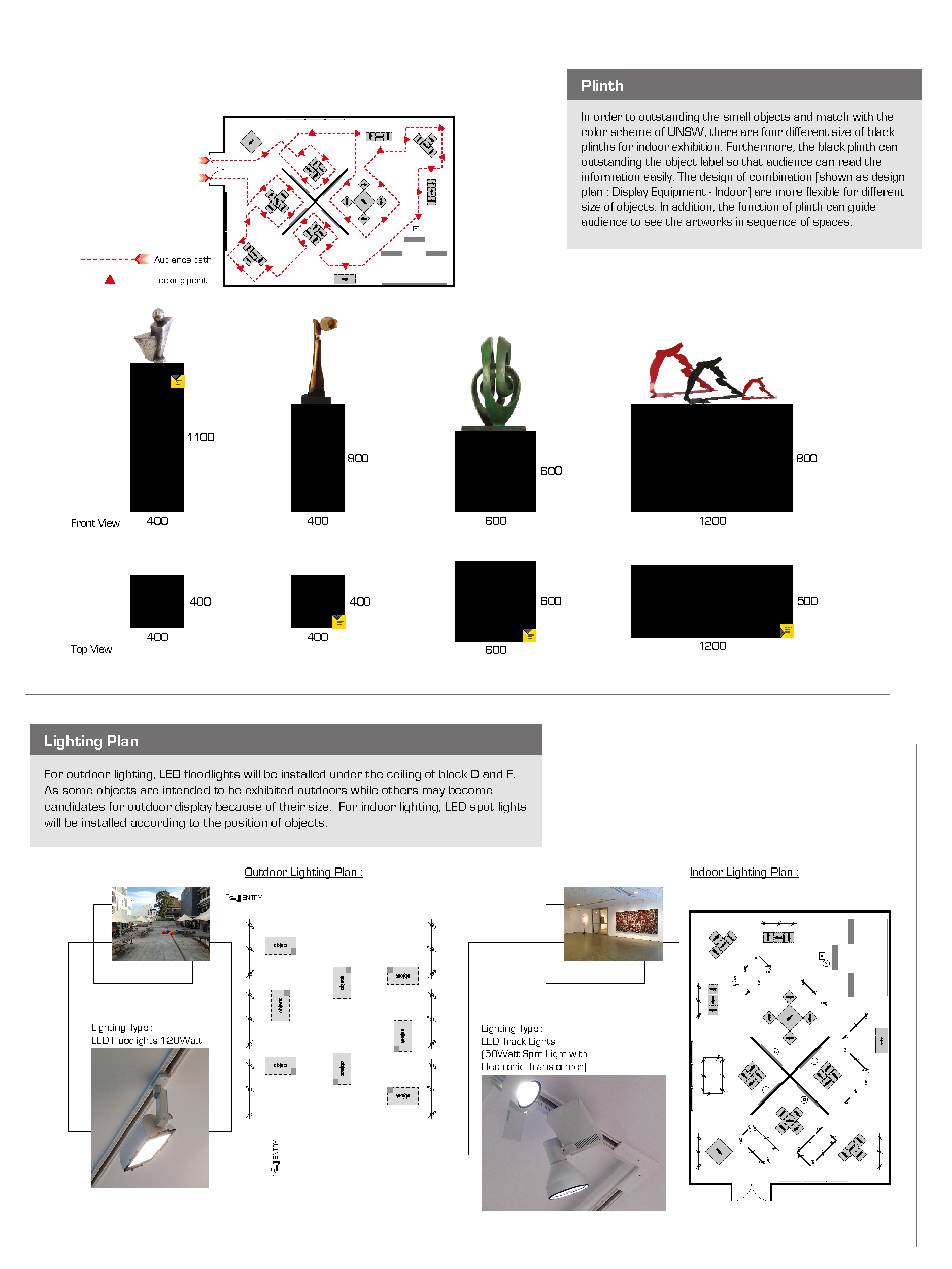 Exhibition Design Plan 4