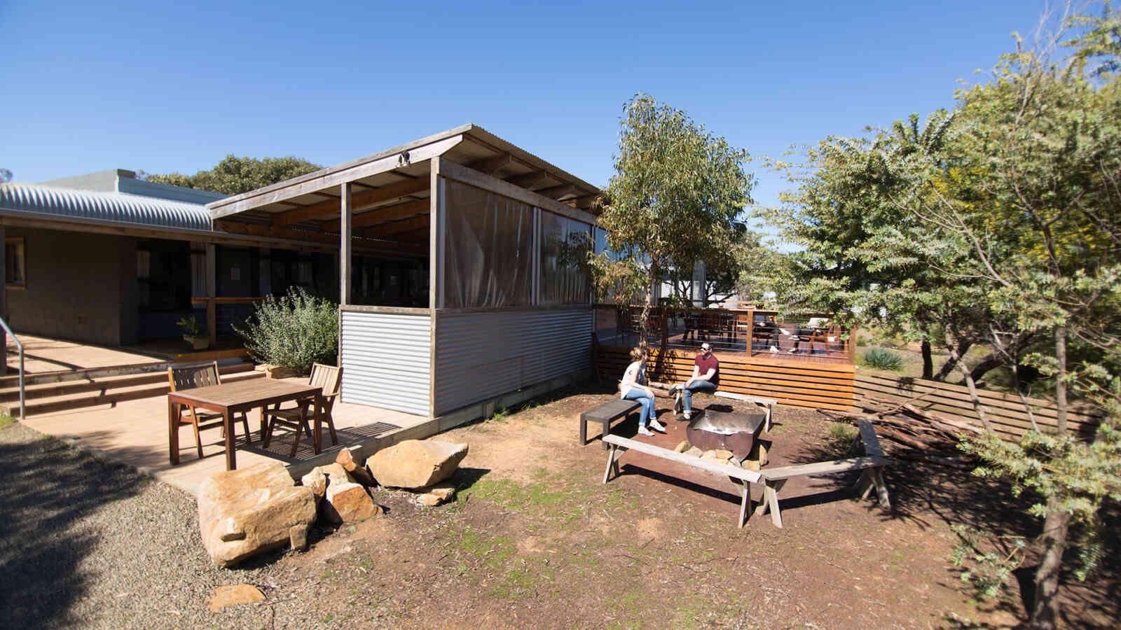 Outdoor Area Vivonne Bay Lodge 1920X1200